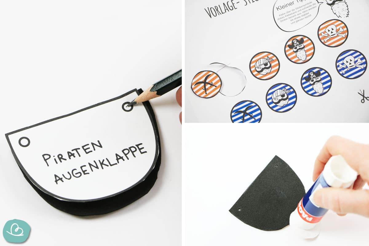 Anleitung Augenklappe