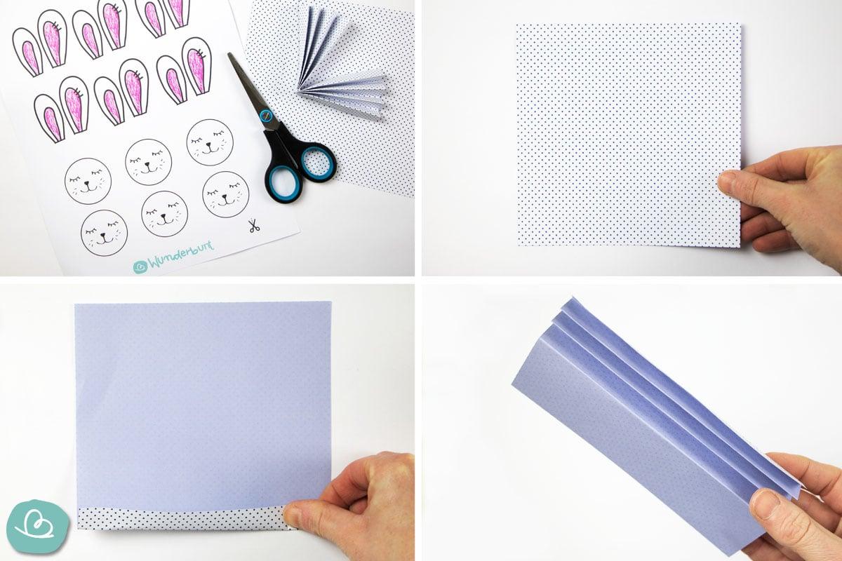 Materialien basteln mit Papier