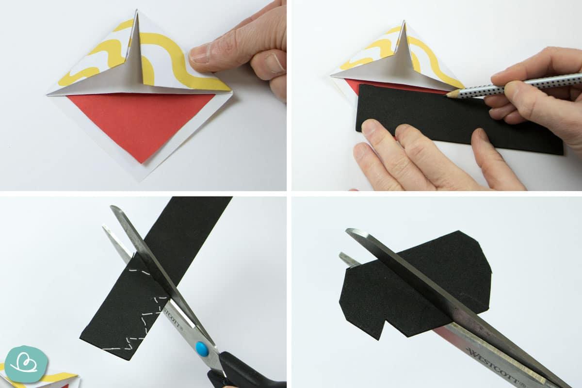 Faltanleitung Origami