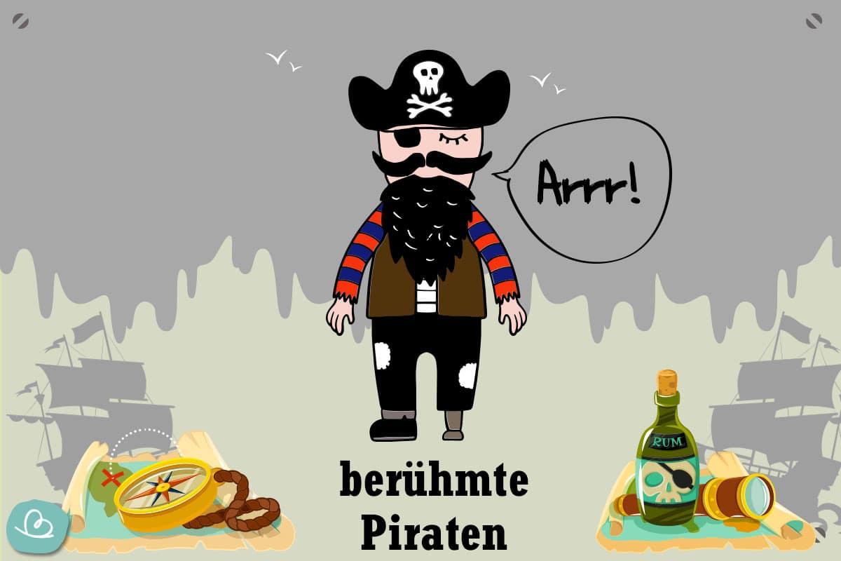 berühmte Piraten