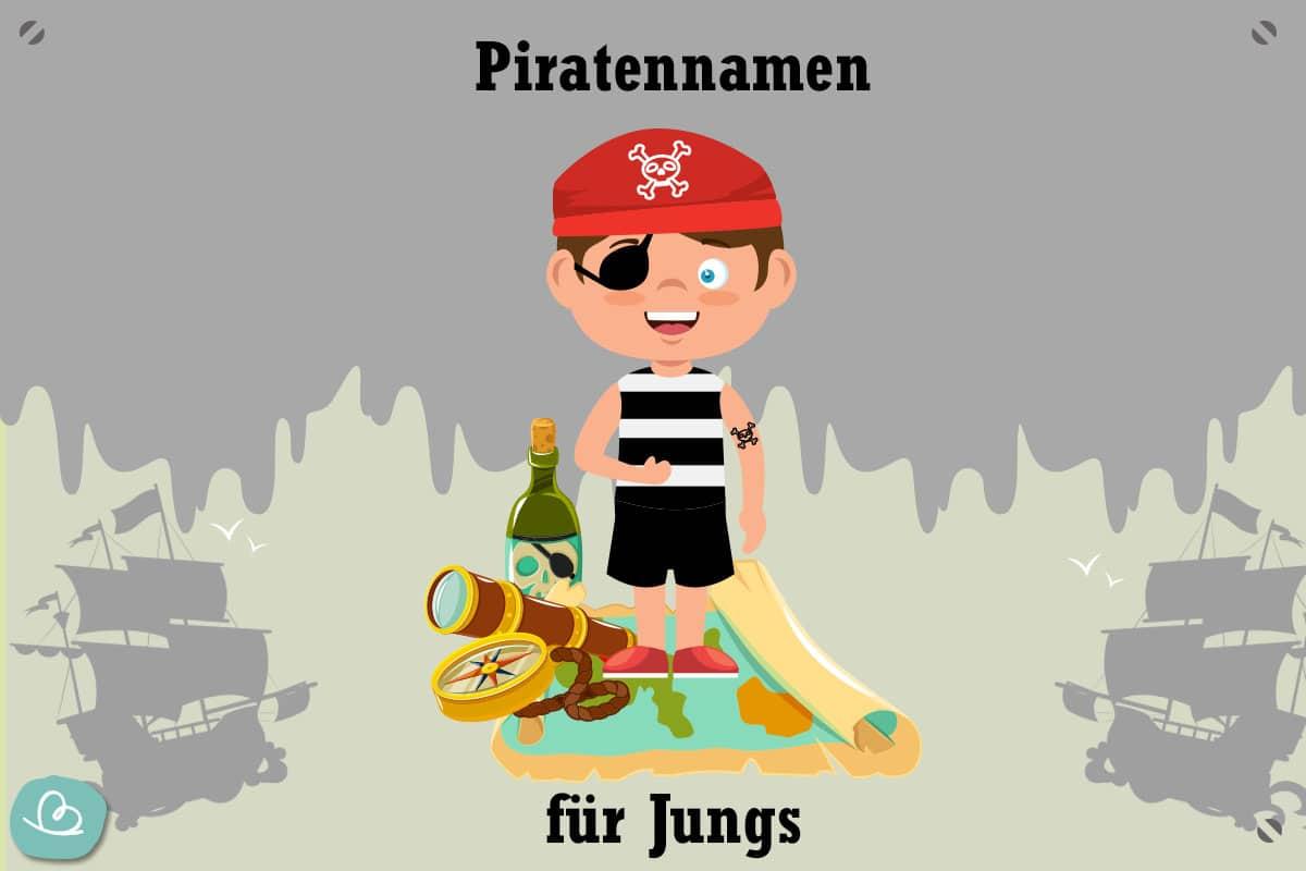 Piratennamen für Jungs