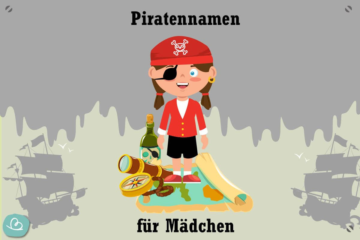 Piratennamen für Mädchen
