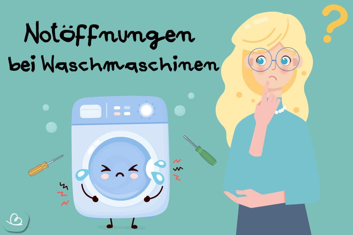 Notöffnung bei Waschmaschinen