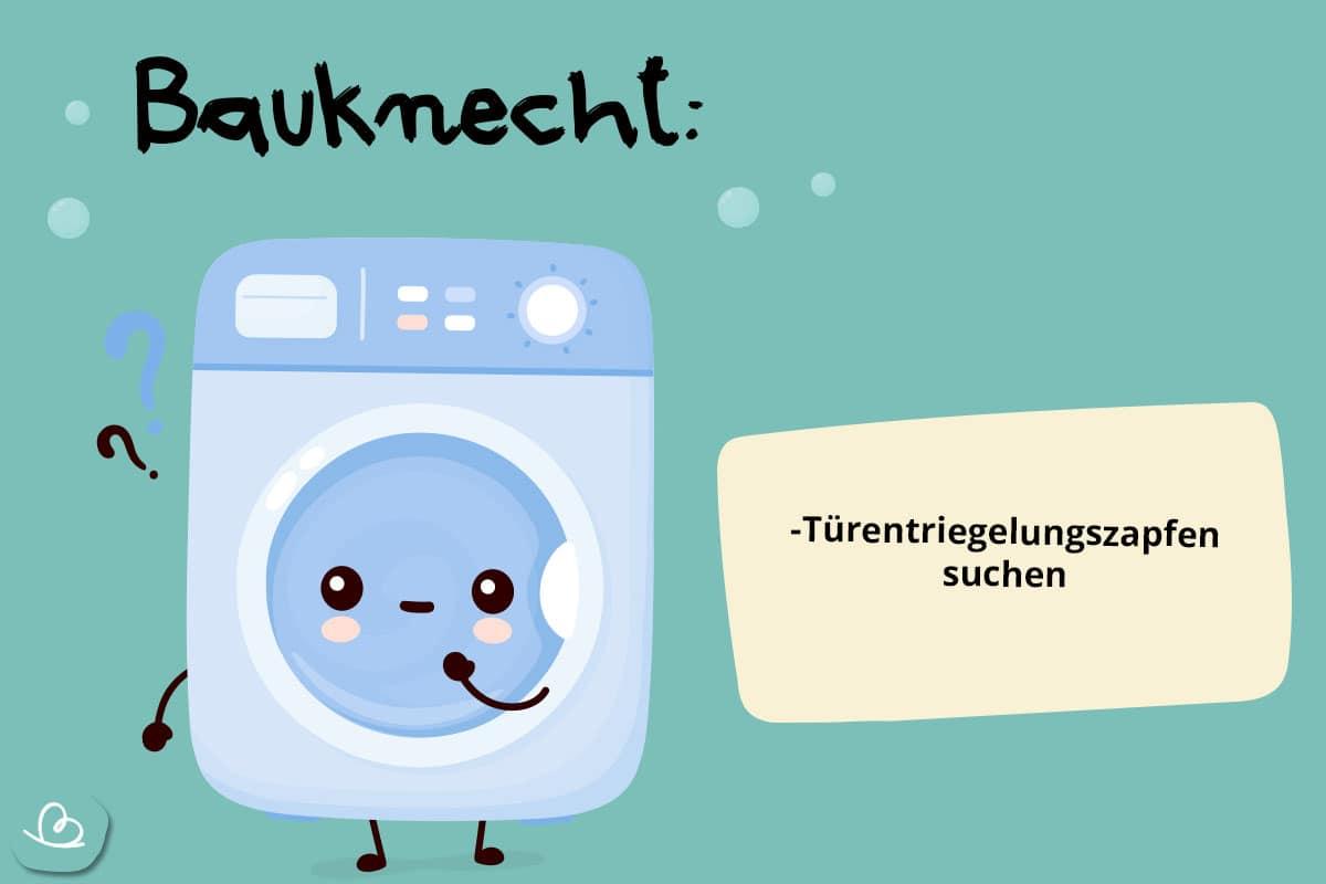 Notöffnung Bauknecht Waschmachine