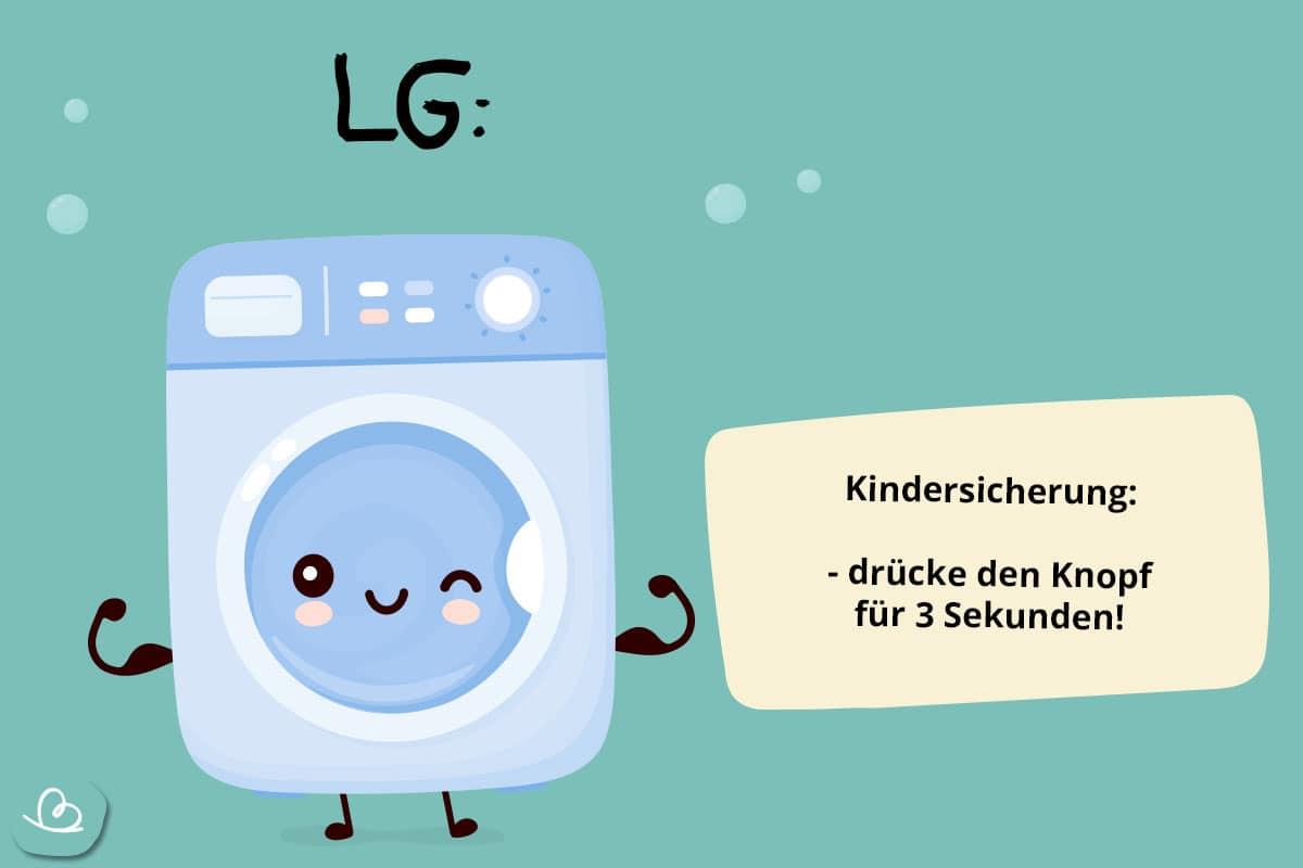Notöffnung LG Waschmachine