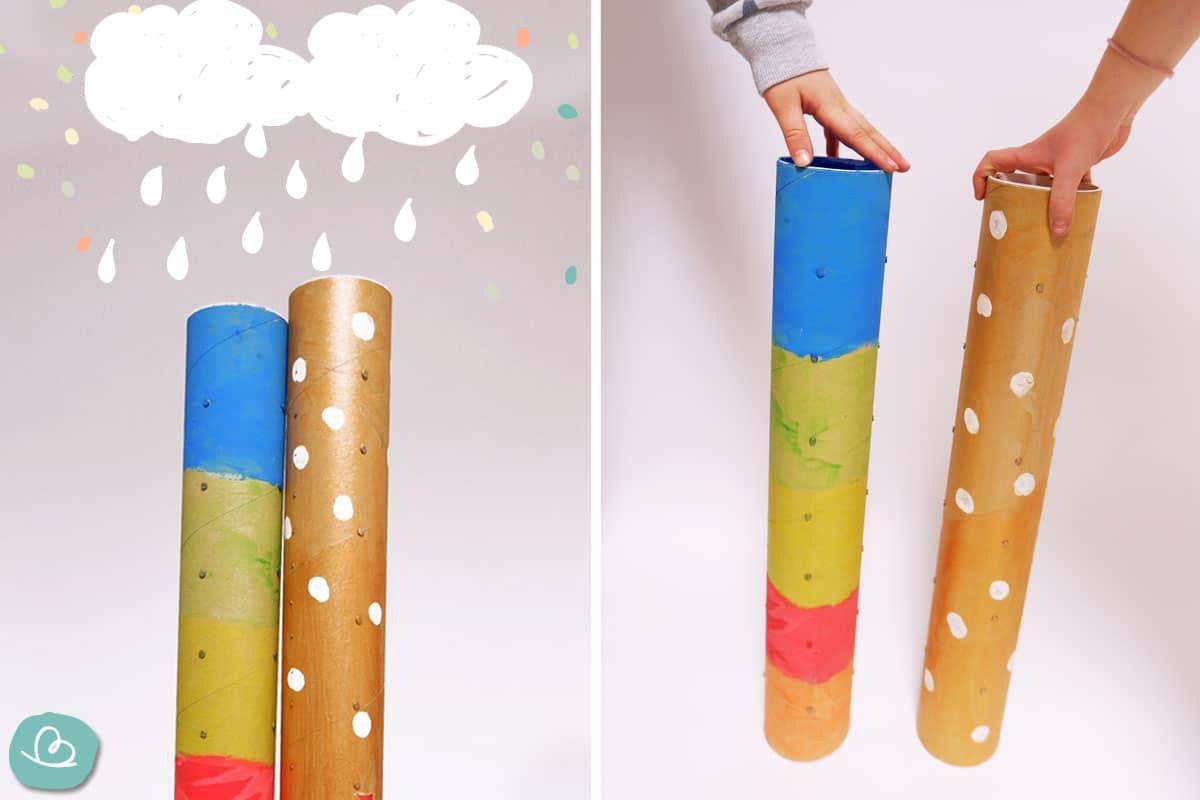 Regenmacher und Regenwolken