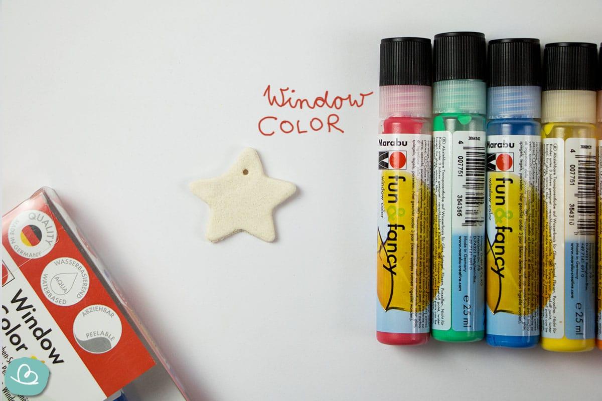 Window Color Farben und Salzteig