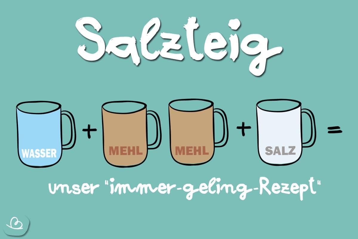 "Salzteig ohne backen: unser ""immer-geling-Rezept"""