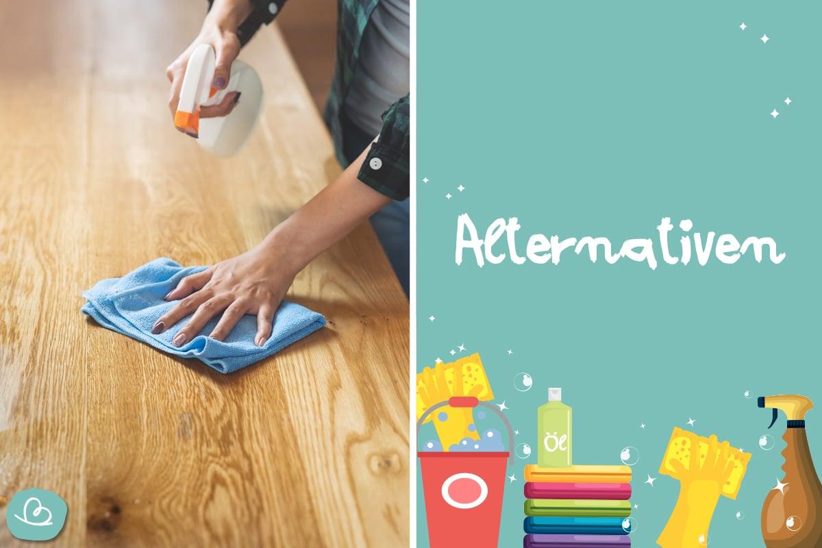 Teppichkleber entfernen mit Alternativen