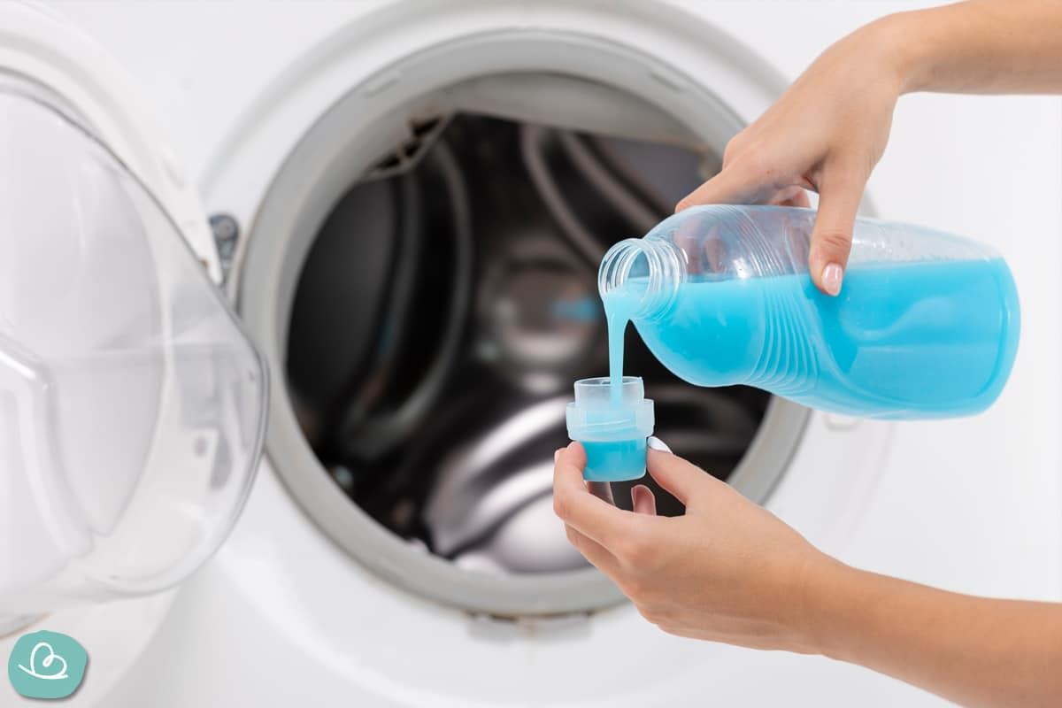 Weichspüler verwenden-Wäsche waschen!