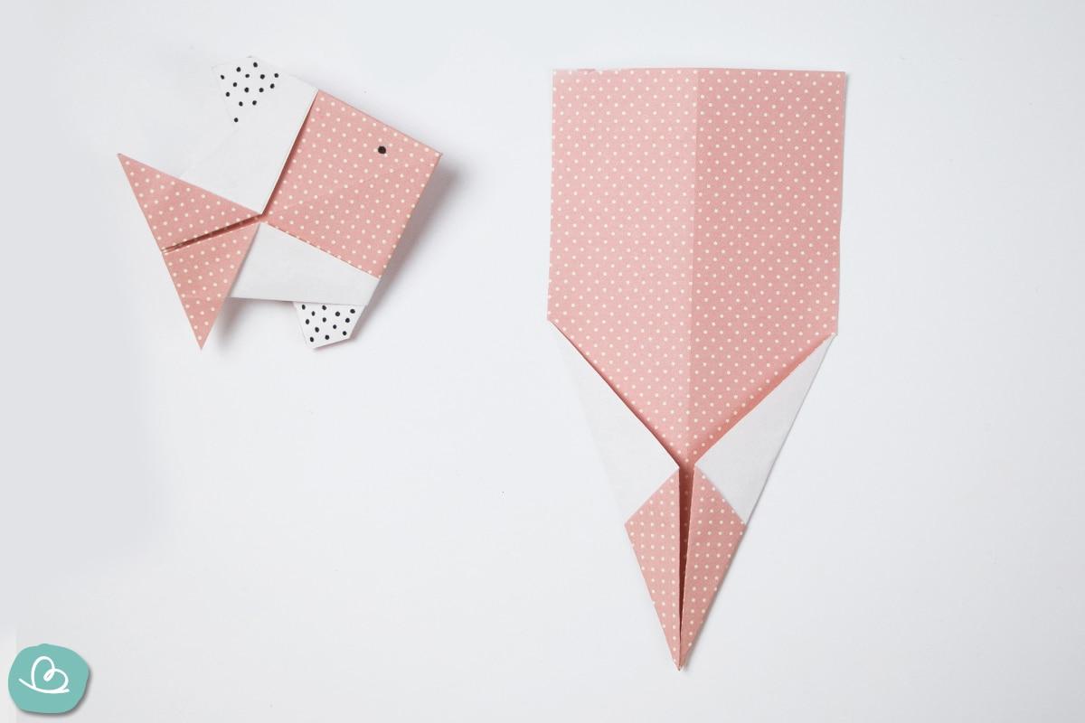 Papier falten Anleitung