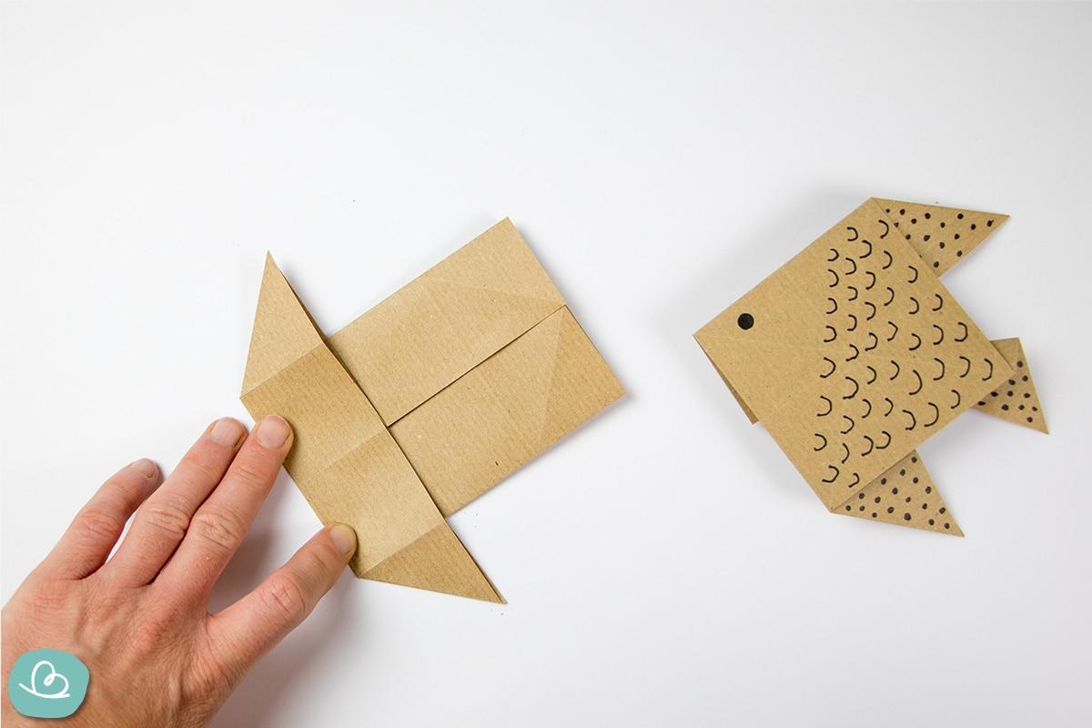Papier drehen