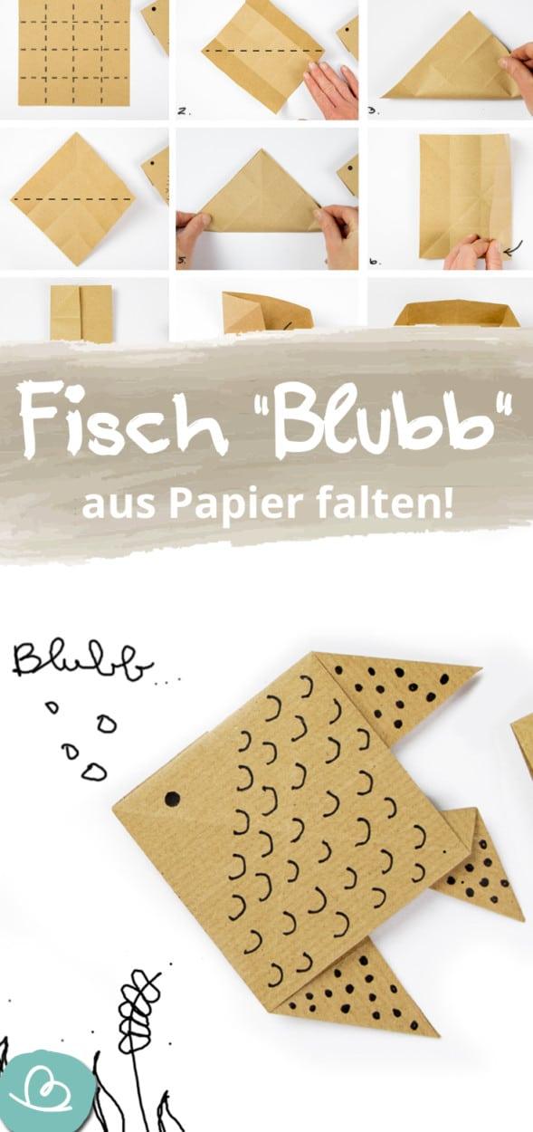 Origami Fisch Pinterest Bild