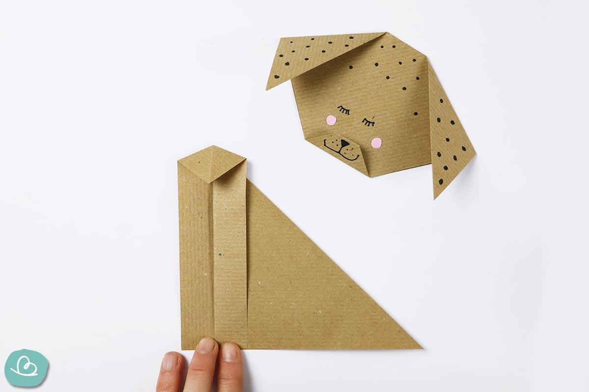 Faltung aus Papier