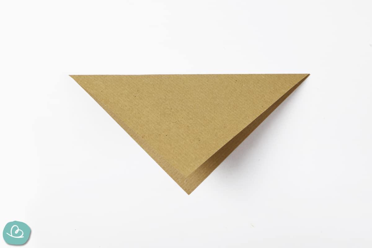 Mittelfaltung Origami
