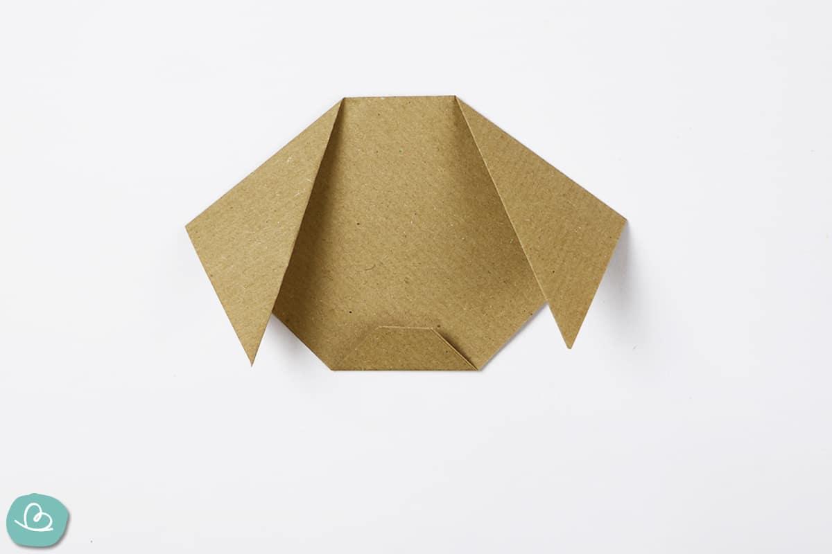 Ohren falten aus Papier