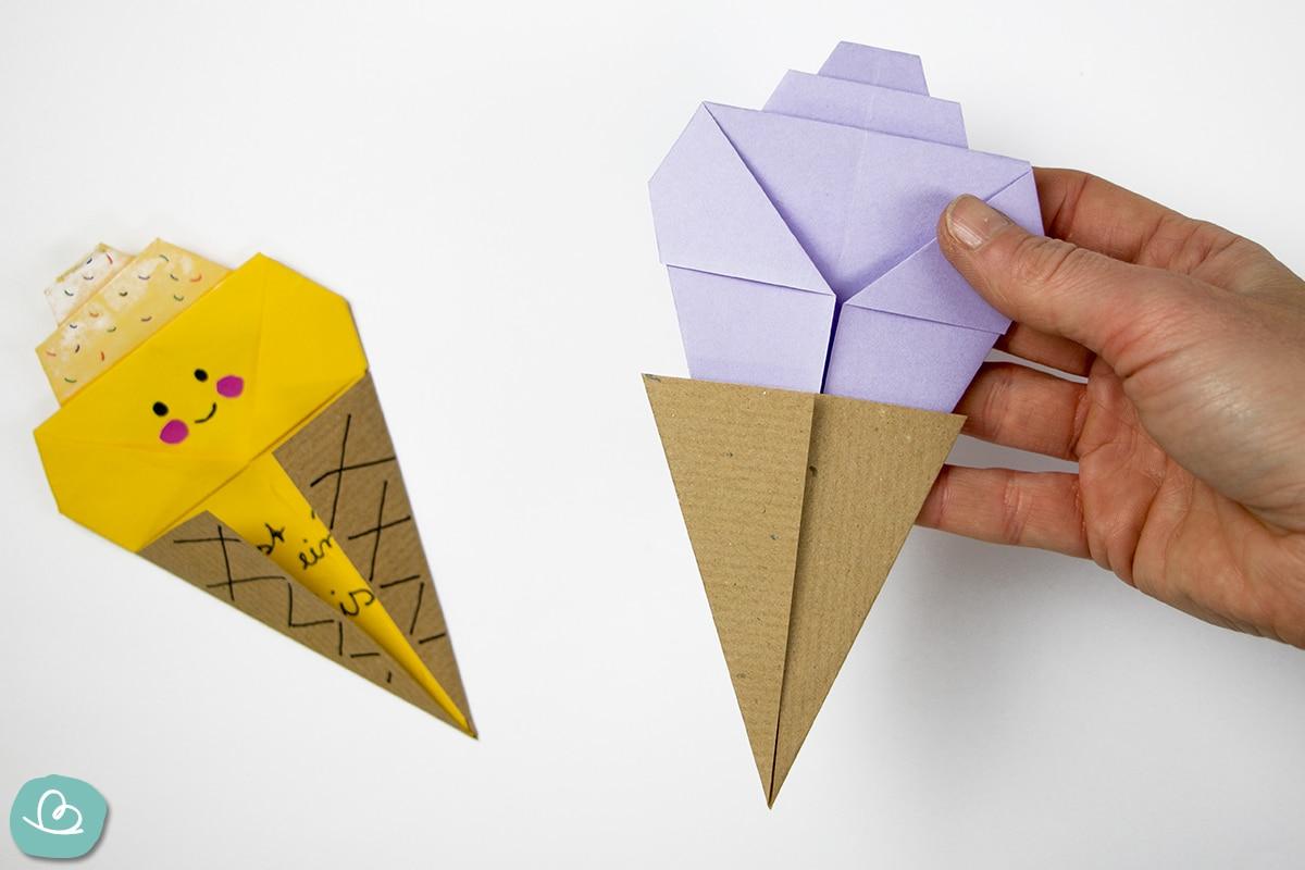 Papierformen verbinden