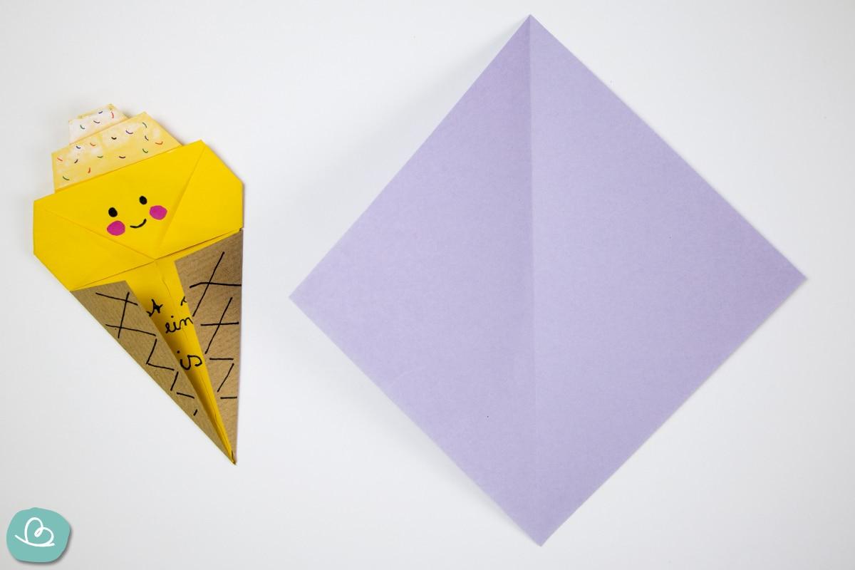 Origamipapier in Violetttönen