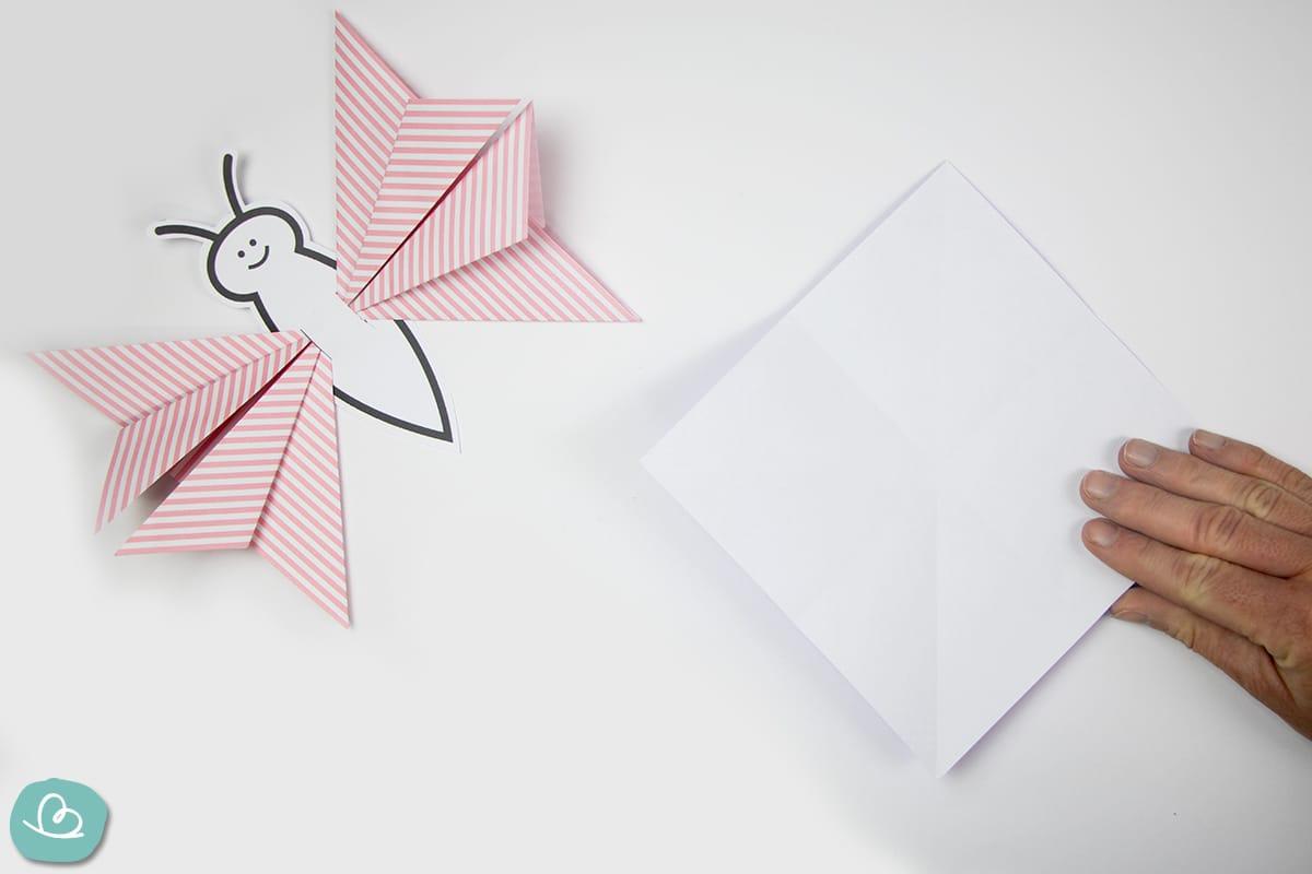 Origamipapier Schmetterling
