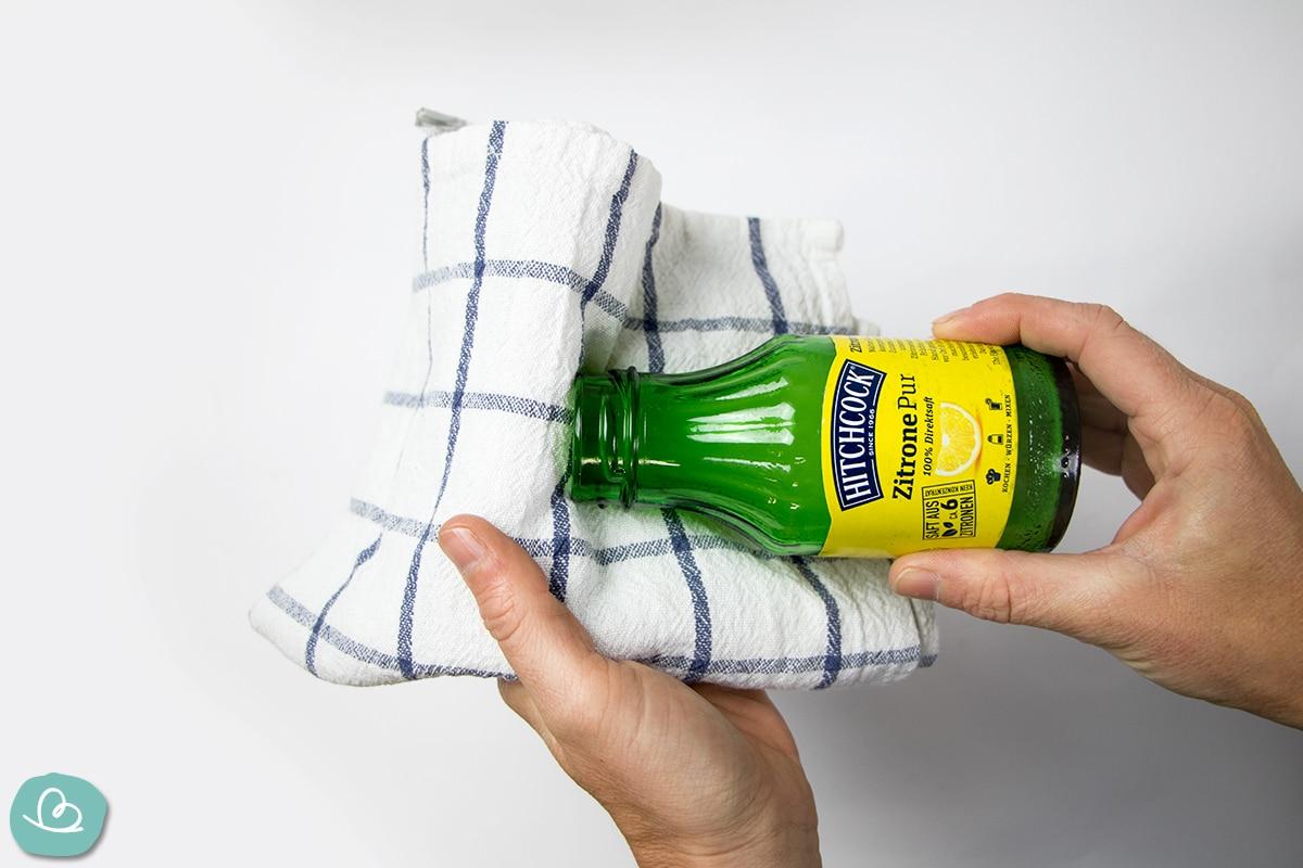 Hausmittel Zitronensäure
