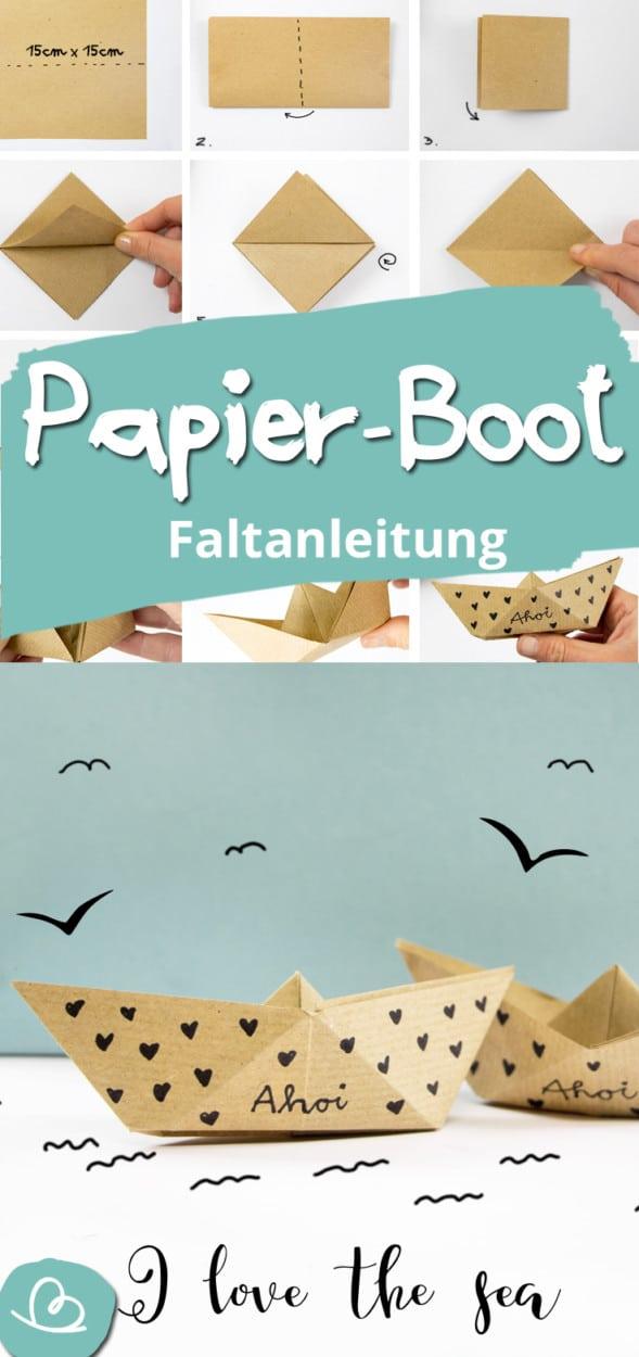 Origami Boot Pinterestbild