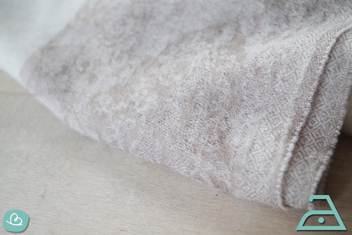 Seide mit geringer Temperatur bügeln