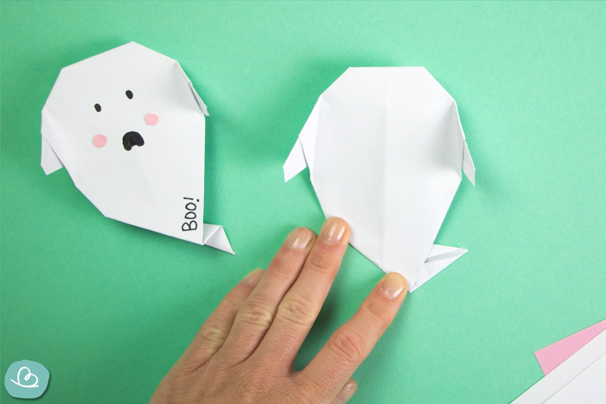 Origami Gespenst falten