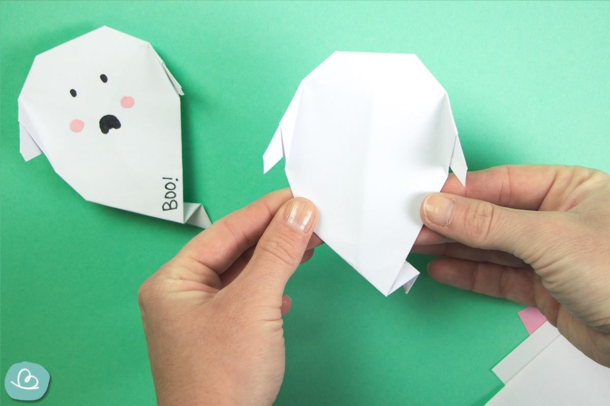 Origami Gespenster falten