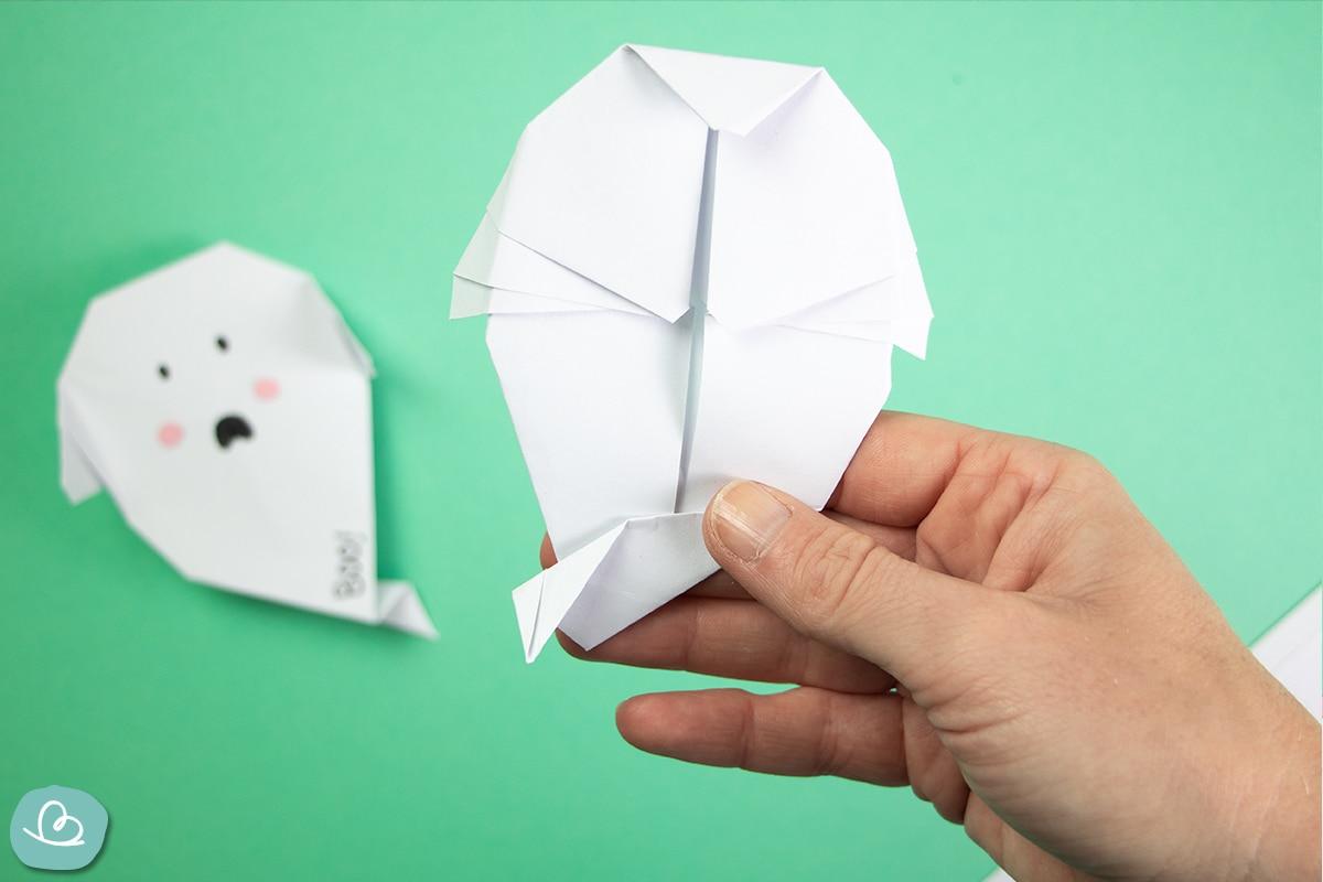 Geist aus Papier falten