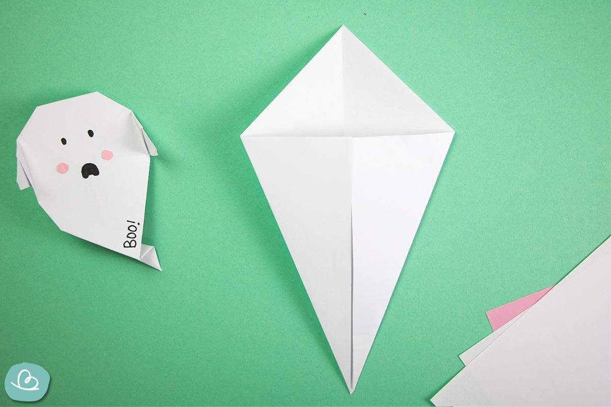 Gespenst falten aus Papier