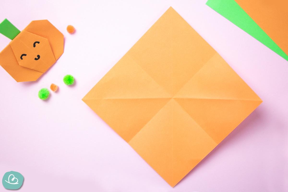 Halkloween Deko-gefaltetes Origami Papier