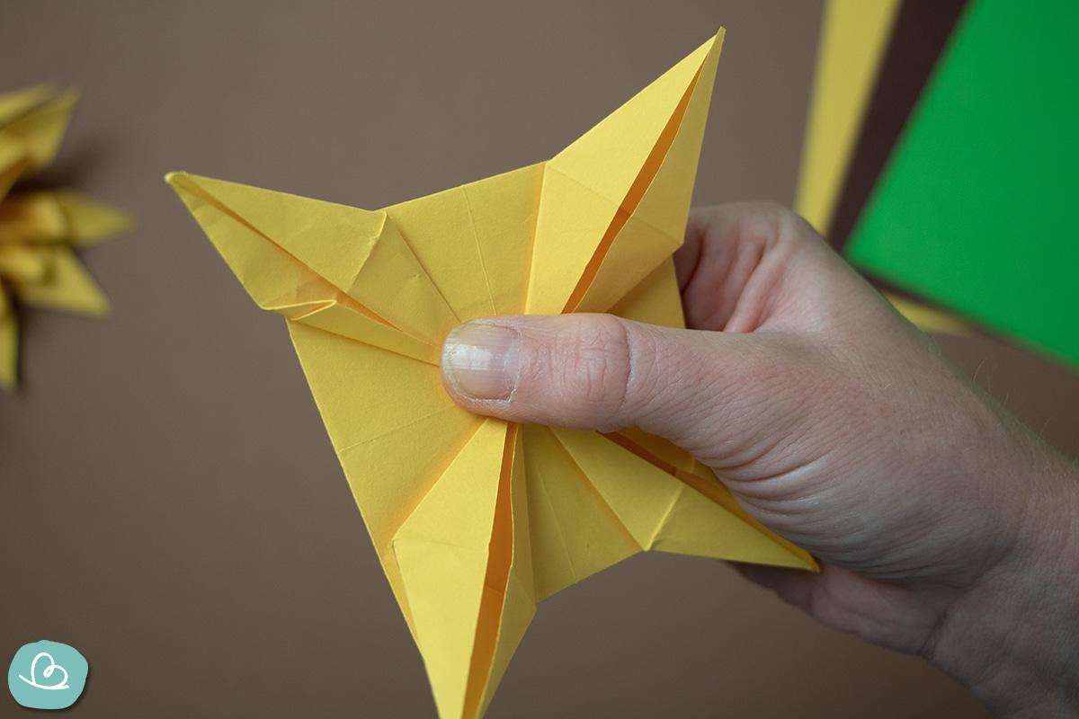 Origami falten Schritt für Schritt