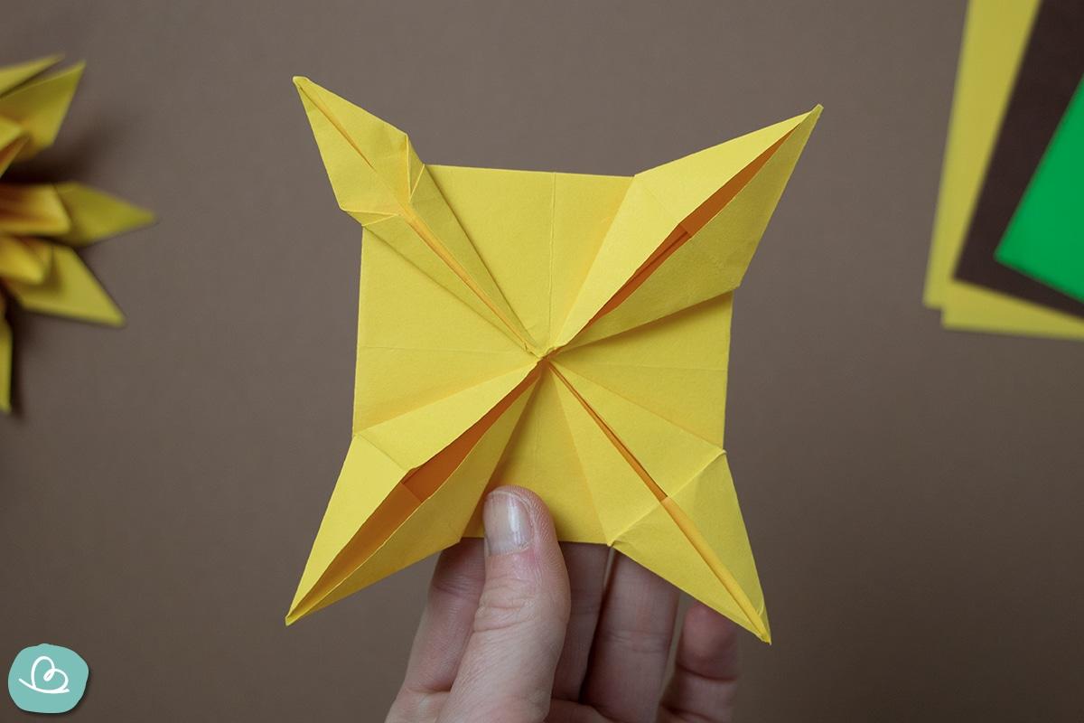 Origami falten nach Anleitung