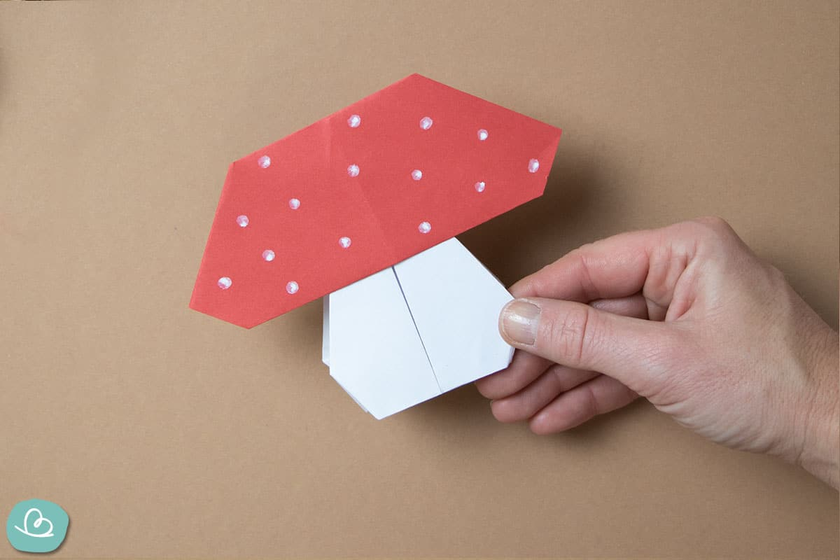Fliegenpilz aus Papier