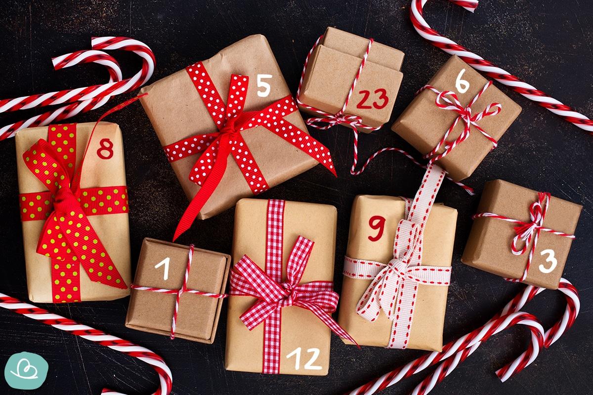 Weihnachtskalender füllen