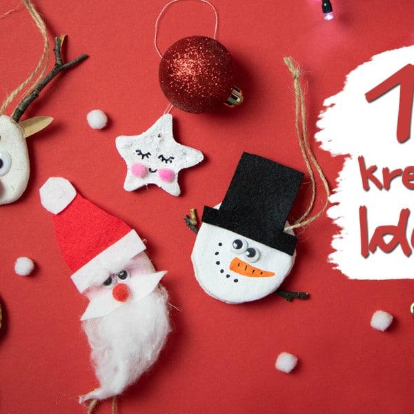 Basteln mit Salzteig an Weihnachten: 10 Ideen