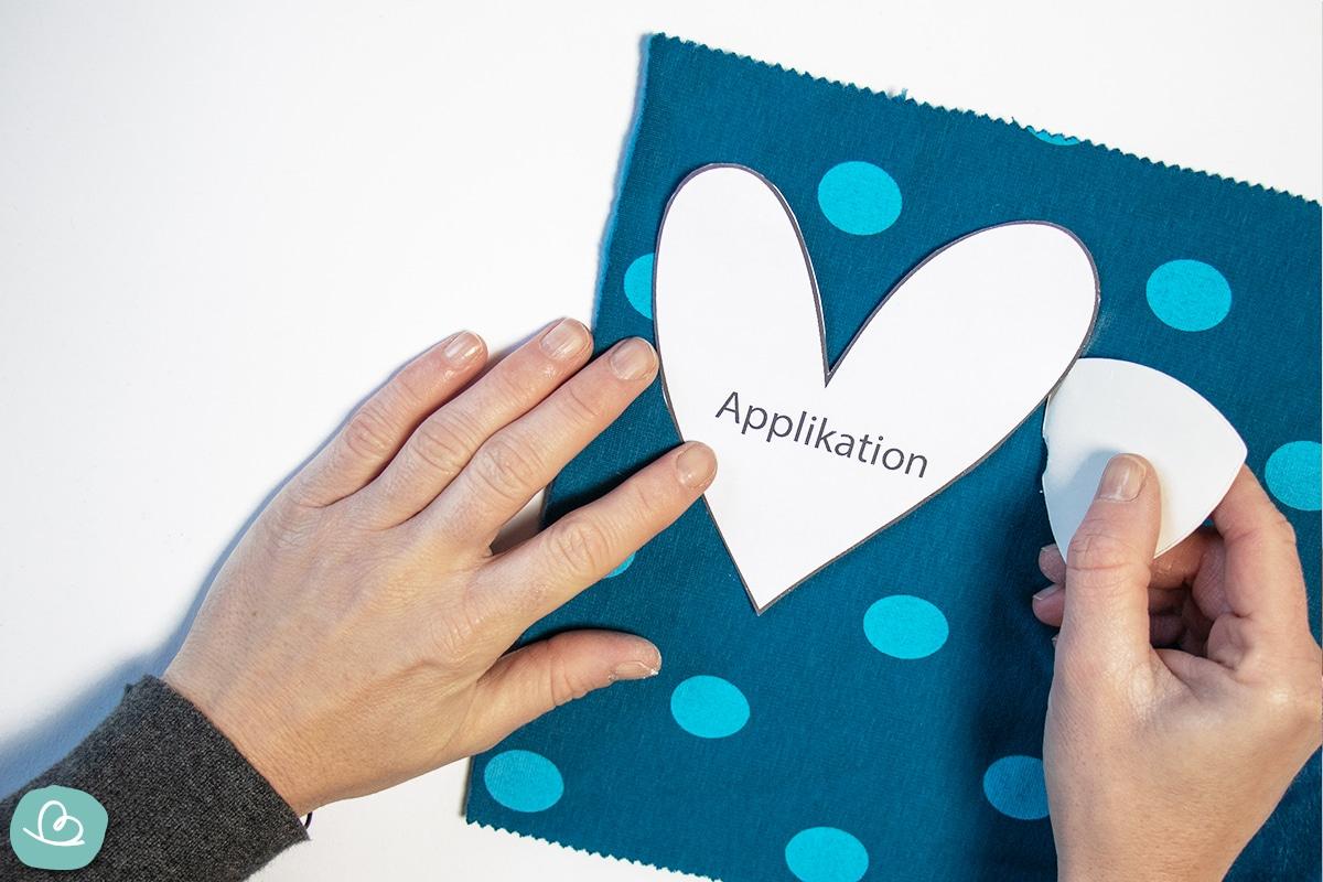 Herz Applikation
