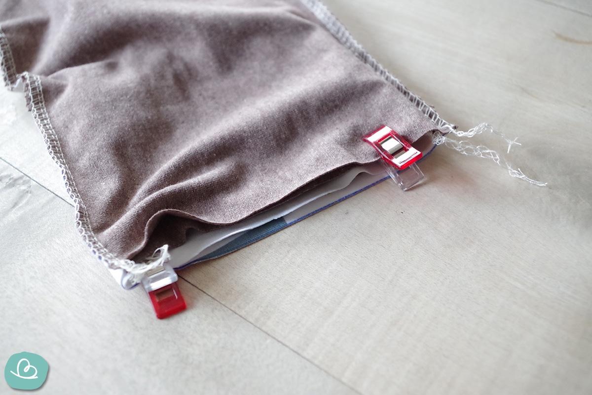 Jerseystoff Schal