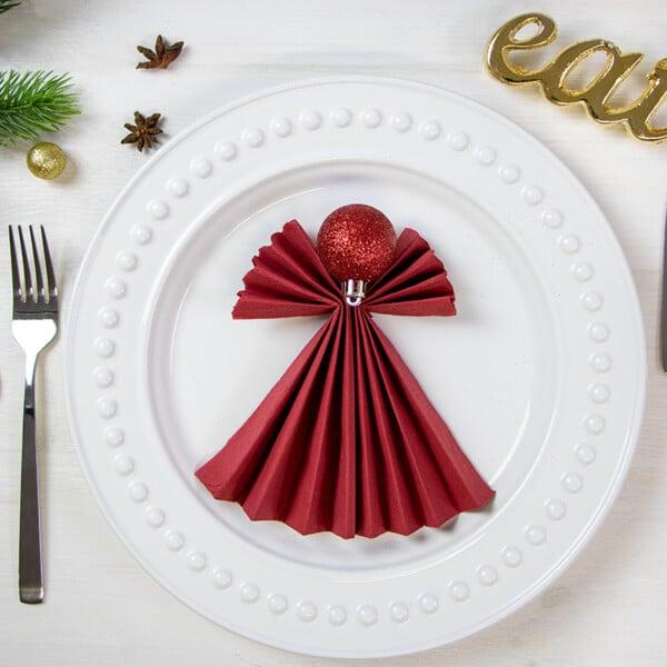 Servietten falten an Weihnachten: 5 Ideen