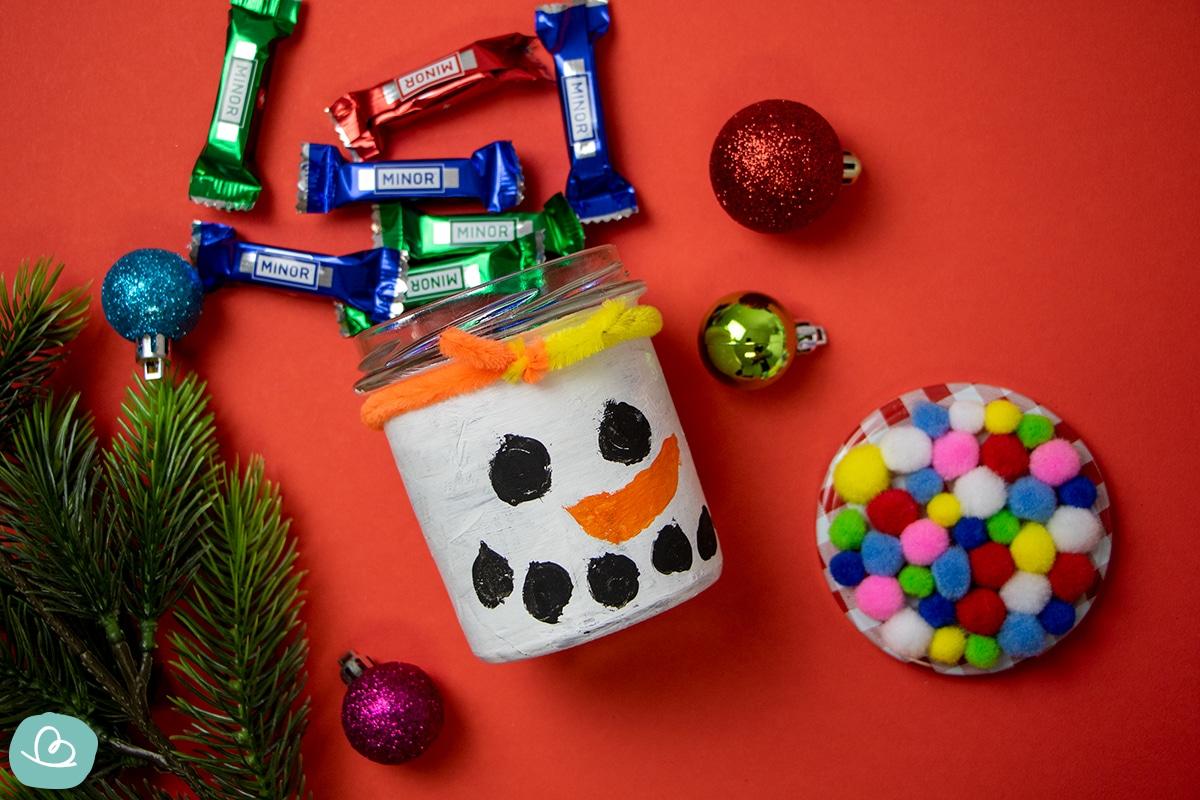Weihnachtsgeschenke selber machen Kinder