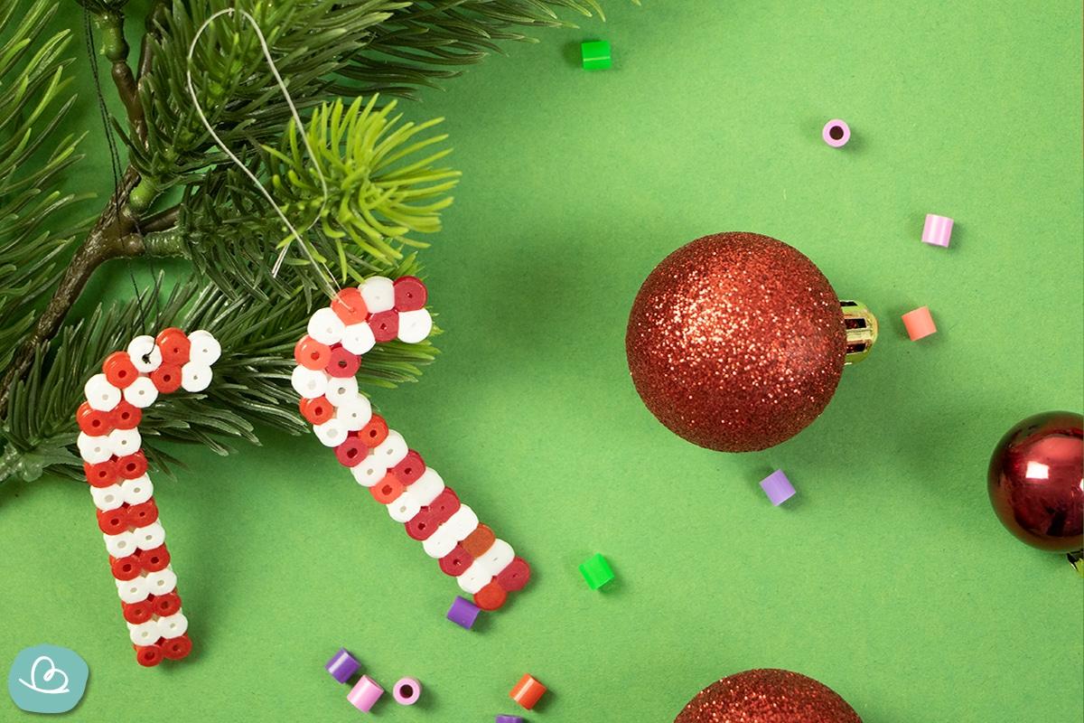 Weihnachtsbaumschmuck mit Kindern basteln