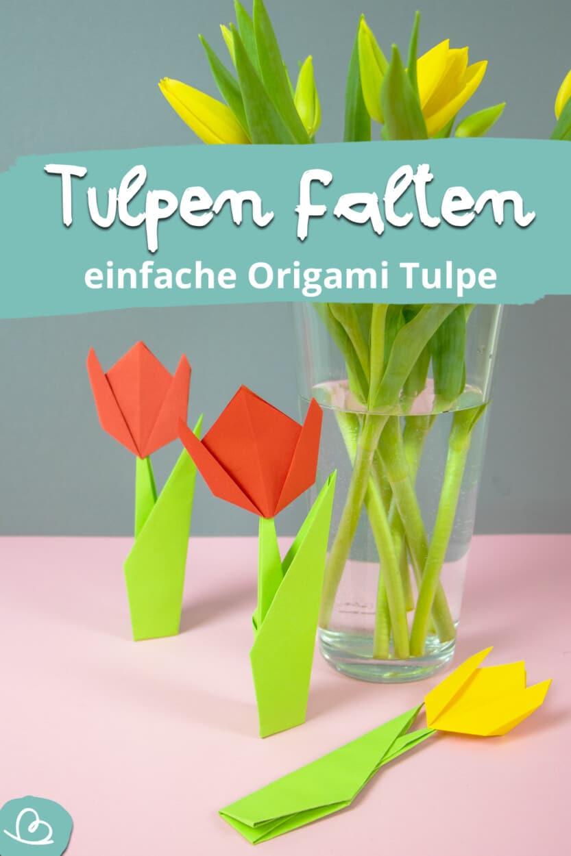 Tulpen falten Pinterest