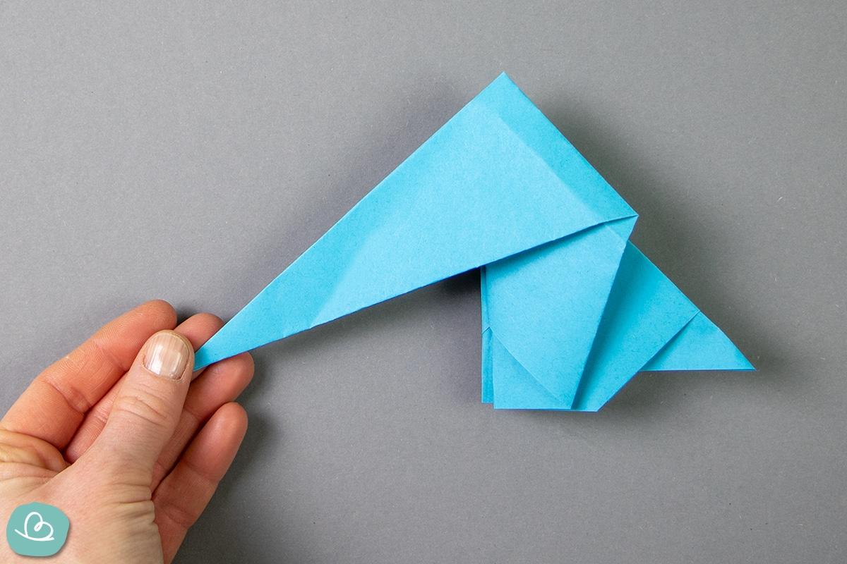 Elefant aus Paper falten.