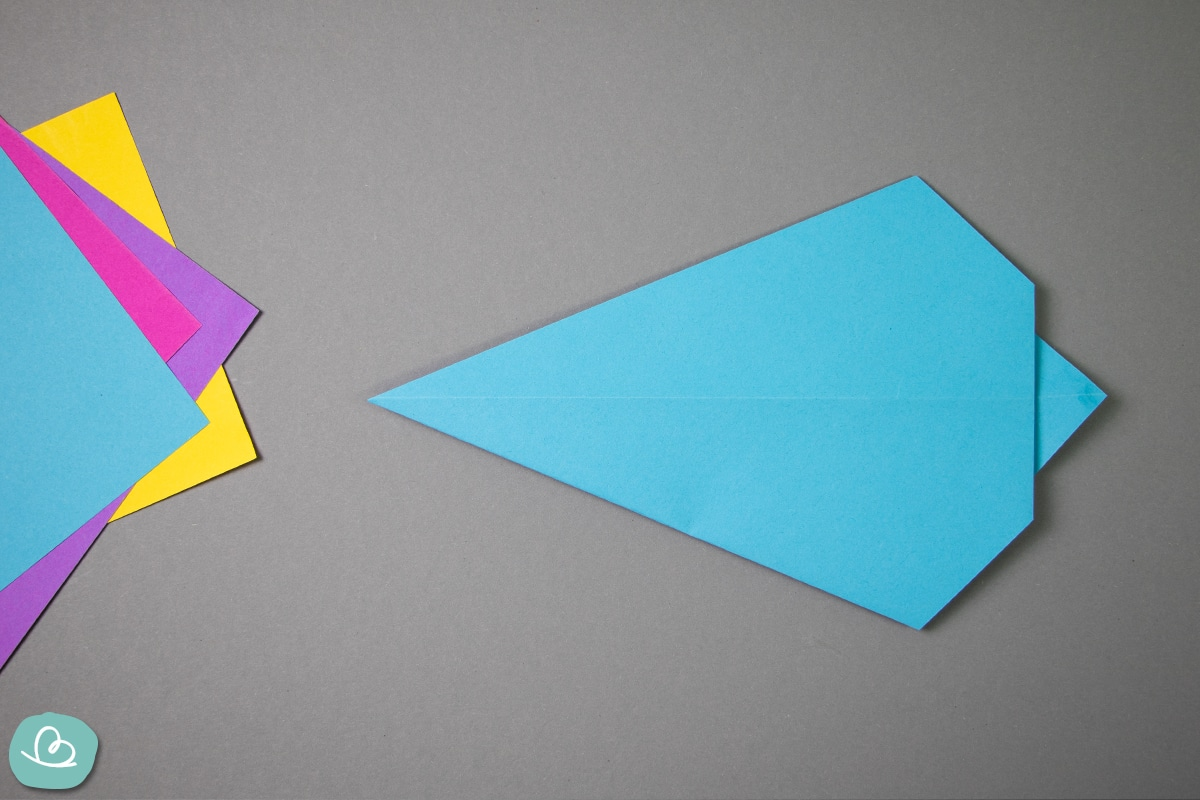 Origamipapier falten.