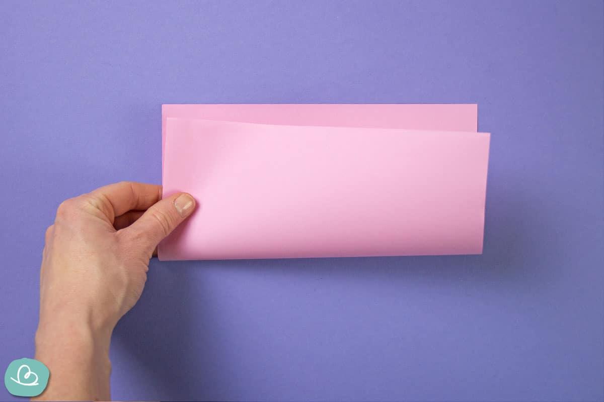 Origamipapier falten