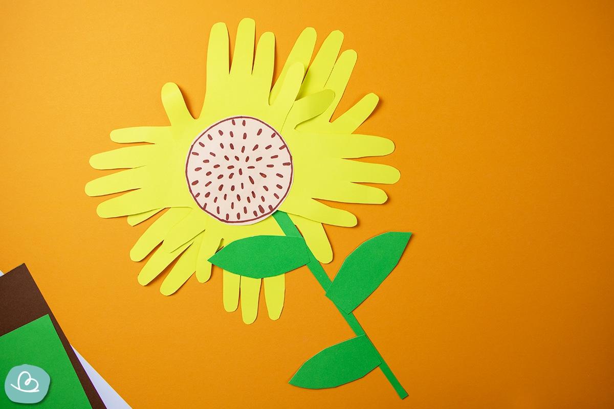 Sonnenblume basteln
