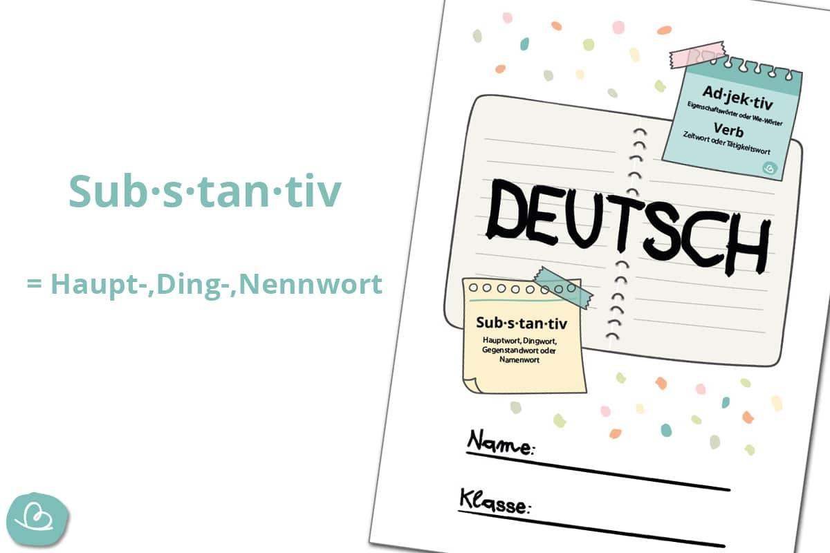 Deckblatt für Hefter, Ordner und Arbeitsmappe.
