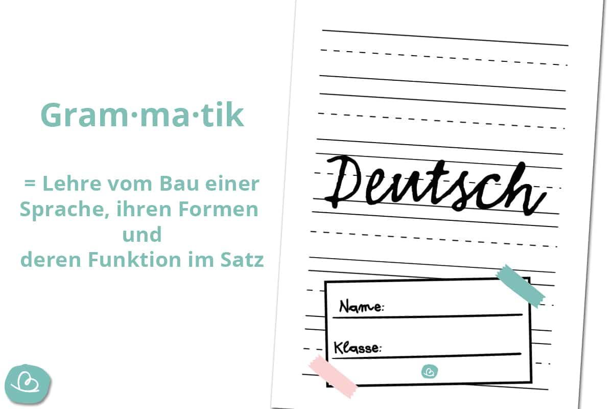 Druckvorlage Deutsch