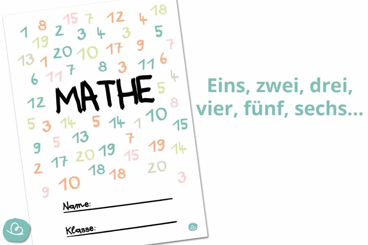 Mathe Deckblatt