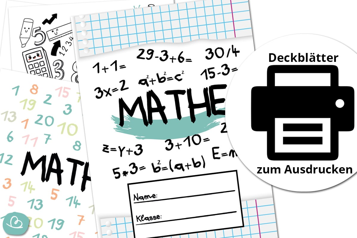 Deckblätter Mathe